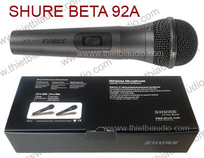 Bán micro có dây tuyển chọn, hát hay, giá rẻ, SHURE PG58, Sennheiser e-828S